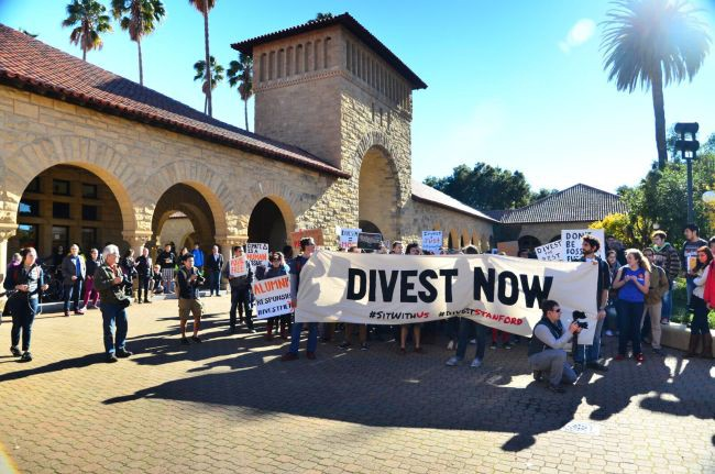 A Bill To Nowhere: Fossil Free Stanford Meets SSE