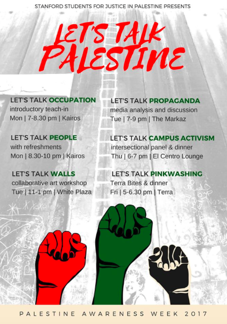 "Hatred and Deceit: ""Palestine Awareness Week"" at Stanford"