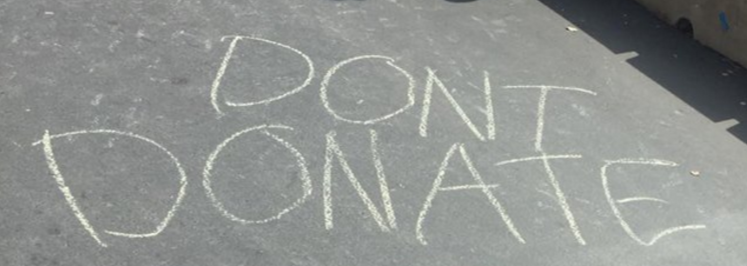 Parents' Weekend Sees Chalk Wars Escalate
