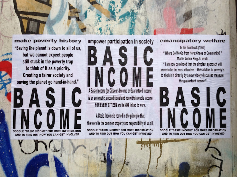 Universal Basic Income: It's That Simple*
