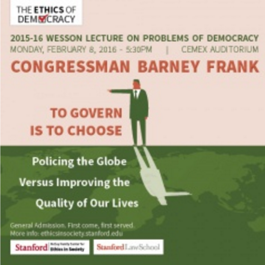 Barney Frank event
