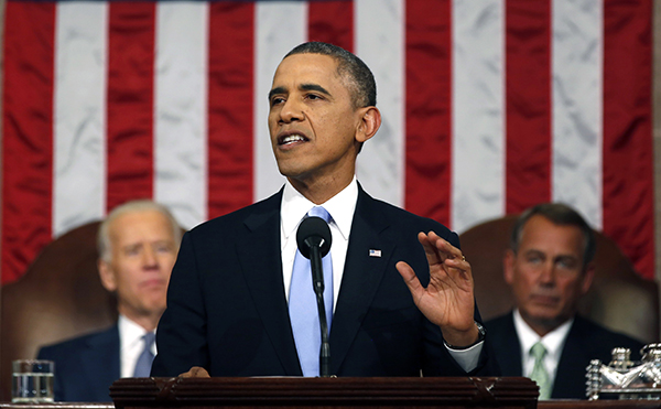 Barack Obama, State of the Union 2014