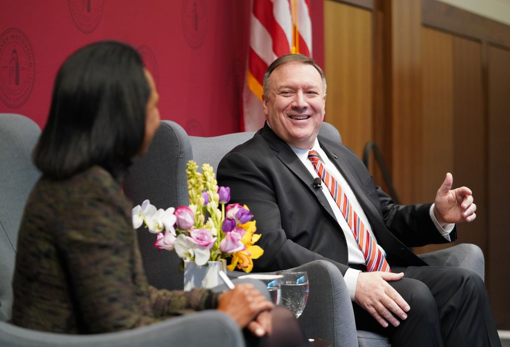In Iran talk, Pompeo articulates new strategy for deterring America's foes