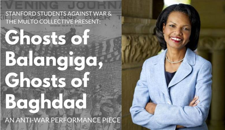 EXCLUSIVE: Anti-War Activists Plan Performance Art Protest To Curse Condoleezza Rice