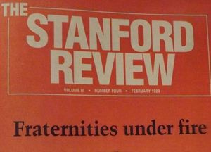 A Brief and Non-Exhaustive History of the Stanford Review